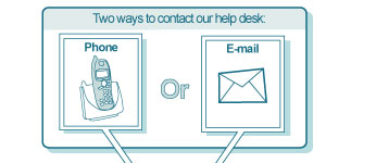 Help desk IT support scheme