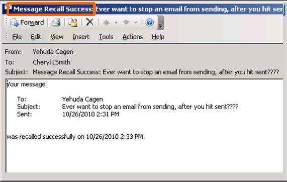 How To Retrieve Email In Outlook >> Accidentally sent the wrong email? Here's how to recall it